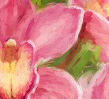 Orchid Joy Sticker