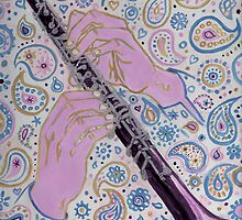 Oboe melody in paisley D sharp by didielicious