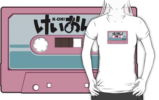 K-On! Cassette Design by Fairfaxx