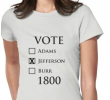 Vote Jefferson! Womens Fitted T-Shirt