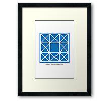 Design 87 Framed Print