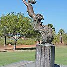 Mermaid statue, Broome, Western Australia by Margaret  Hyde