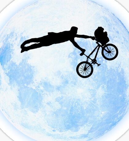 Riding the Kuwahara BMX. Like A Boss! Sticker
