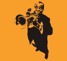 Louis Armstrong t-shirt by ralphyboy