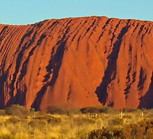 Uluru by Nigel Byrne