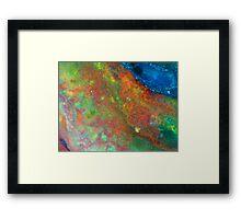 Colourscape Framed Print