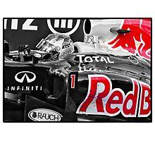 Vettel Photographic Print