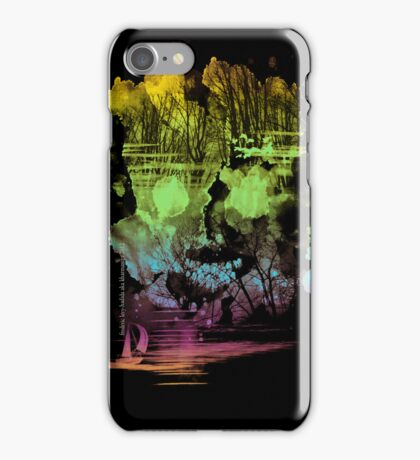 treasure island iPhone Case/Skin