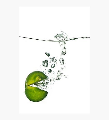 Lime Rush Photographic Print