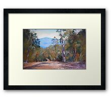 'High Country Track' Framed Print