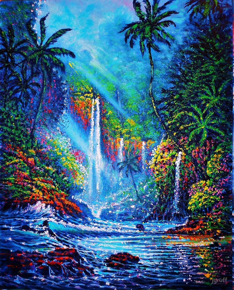 Waterfall (River of Life) by jyruff