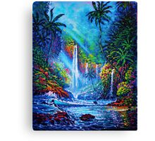 Waterfall (River of Life) Canvas Print