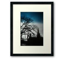 Spectral Framed Print