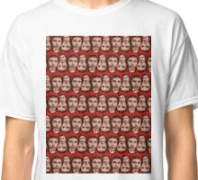 Michael Cera Plz  - Full Pattern Classic T-Shirt