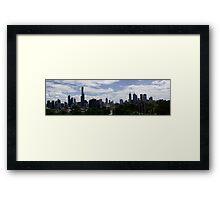Panorama Melbourne Framed Print