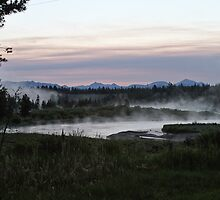Madison River Morning at Baker's Hole by Ken McElroy