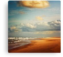 Atlantic Beach - France Canvas Print