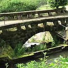 Bridge by the mill pond by TedT