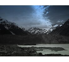 Mount Cook Blue Photographic Print