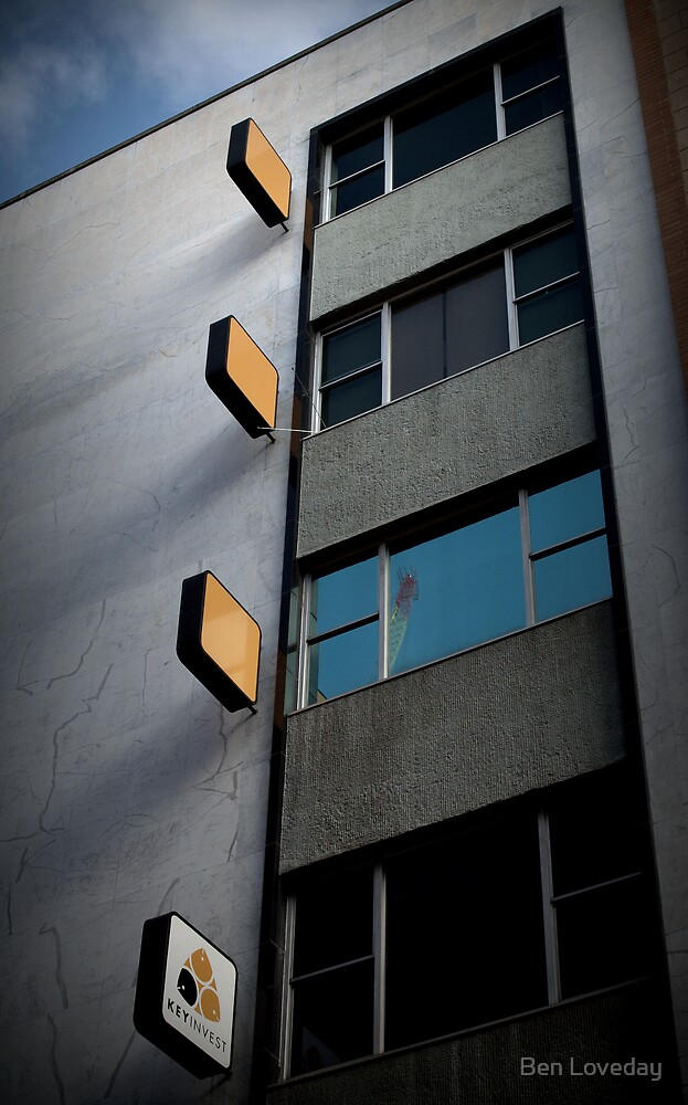 The Giraffe On The 2nd Floor. by Ben Loveday