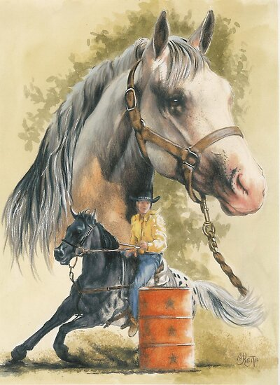 Appaloosa by BarbBarcikKeith