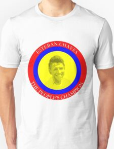 ESTEBAN CHAVES THE PEOPLE'S CHAMPION Unisex T-Shirt