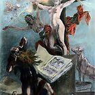 La tentation de Saint Antoine by MKuntu