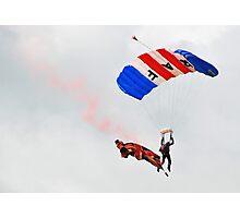 The RAF Falcons @ Waddington Airshow 2012 Photographic Print