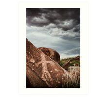 Rock Carving, Western Australia Art Print