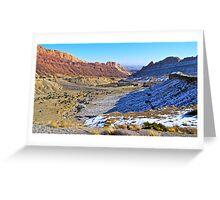 Desert Valley Greeting Card