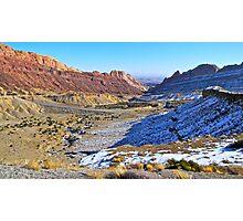 Desert Valley Photographic Print