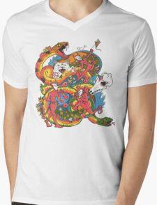 Holiday Imp Mens V-Neck T-Shirt