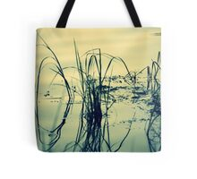 Reeds and Reflections in the Rainbow River Tote Bag