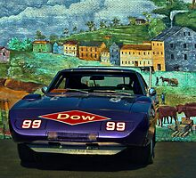 1969 Dodge Daytona Stock Car Replica by TeeMack