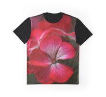 Happy Bright Geranium Graphic T-Shirt
