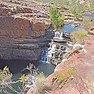 Bell Gorge Waterfall, Kimberley, Western Australia by Margaret  Hyde