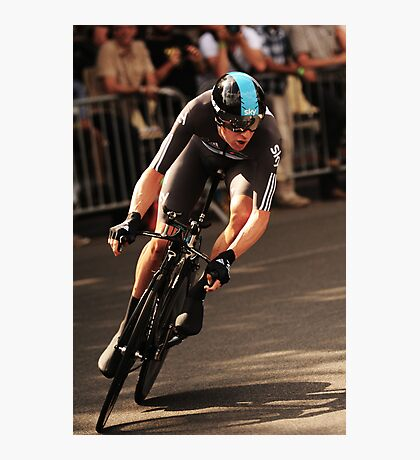 Bradley Wiggins Photographic Print