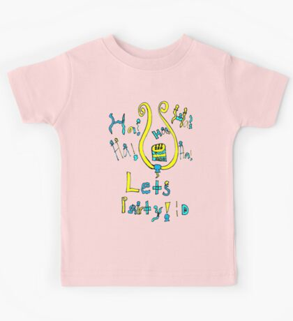 The Neckless of All Parties Kids Tee