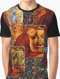 WORK ETERNAL WITH THE BUDDHA Graphic T-Shirt