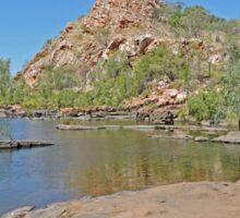 Bell Gorge, Kimberley, Western Australia Sticker
