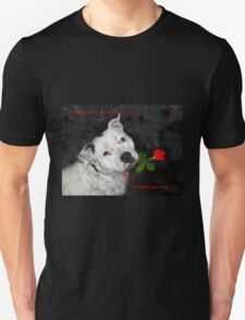 For the Love of Staffies Unisex T-Shirt