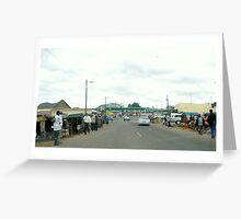 Rural life in KwaZulu-Natal Greeting Card