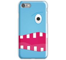One Eyed Monster! Blue iPhone Case/Skin