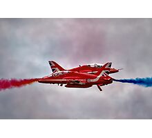 Red Arrows Painting the Sky 2015 Photographic Print