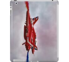Red Arrows Painting the Sky 2015 iPad Case/Skin