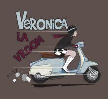 Scooter Girl Veronica La Vroom (Lambretta) by velocitygallery