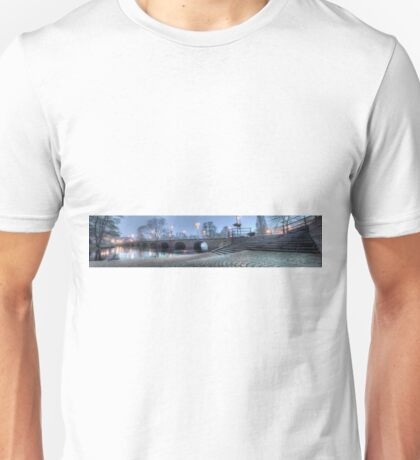Riksväg 1 - Bridge over Lagan - Värnamo (panorama) T-Shirt