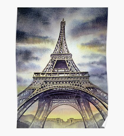 The Eiffel Tower Poster