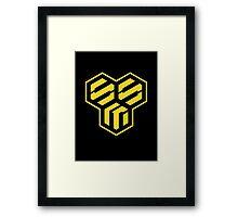 Macross Frontier - Strategic Military Services Symbol Framed Print