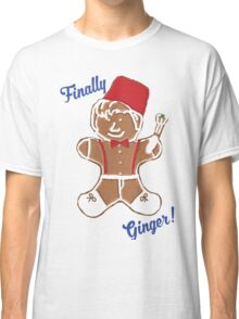 The 11th Doctor is Finally Ginger! Classic T-Shirt